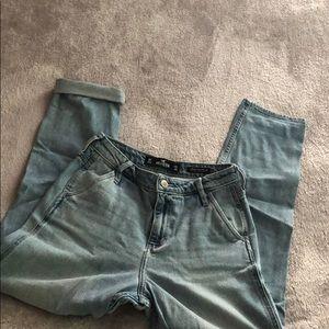 Holister mom jeans!